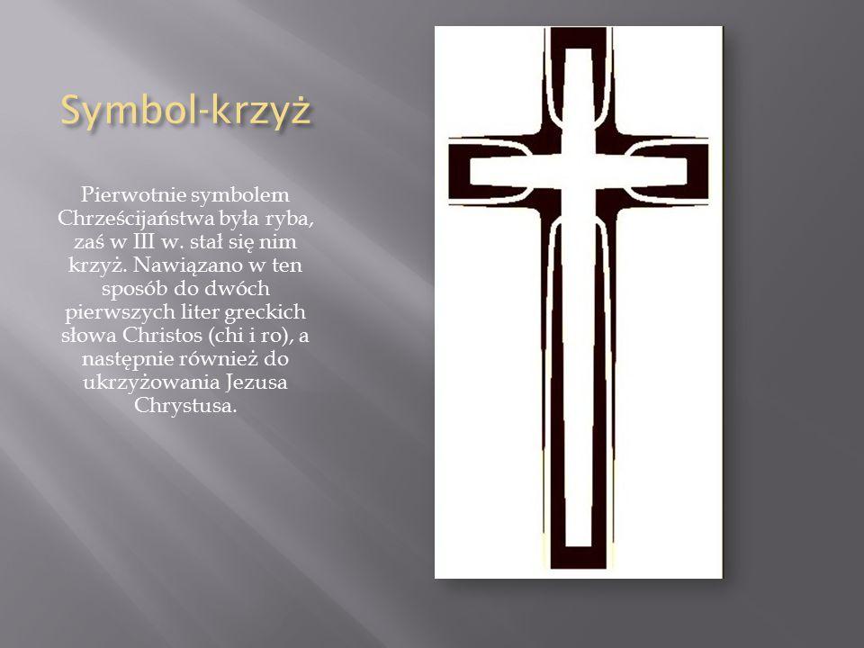 Symbol-krzyż