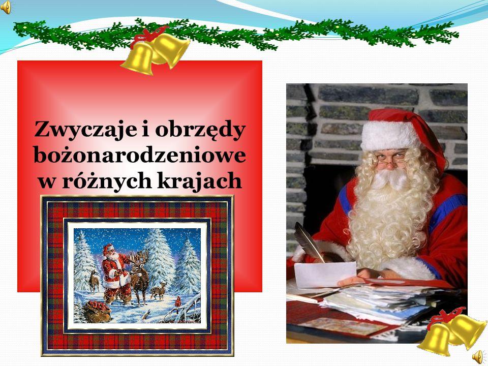 Zwyczaje i obrzędy bożonarodzeniowe