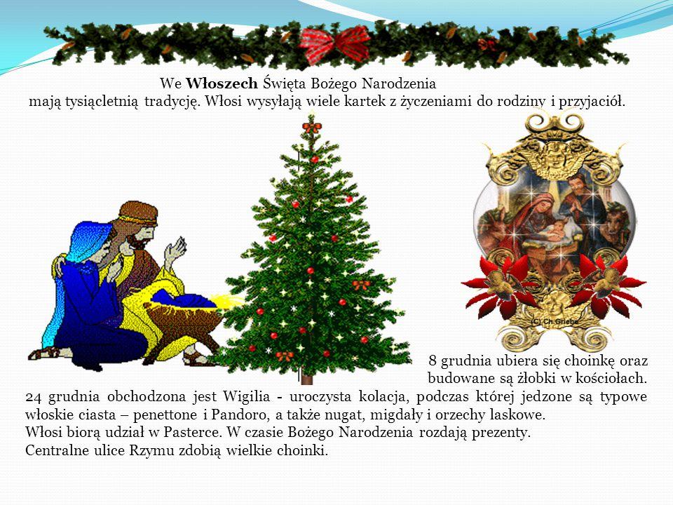 We Włoszech Święta Bożego Narodzenia