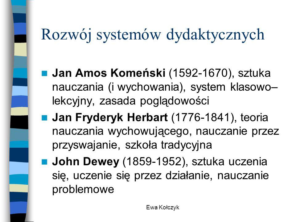 Rozwój systemów dydaktycznych