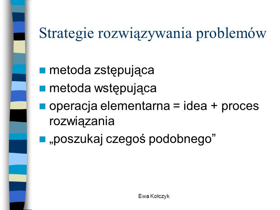 Strategie rozwiązywania problemów