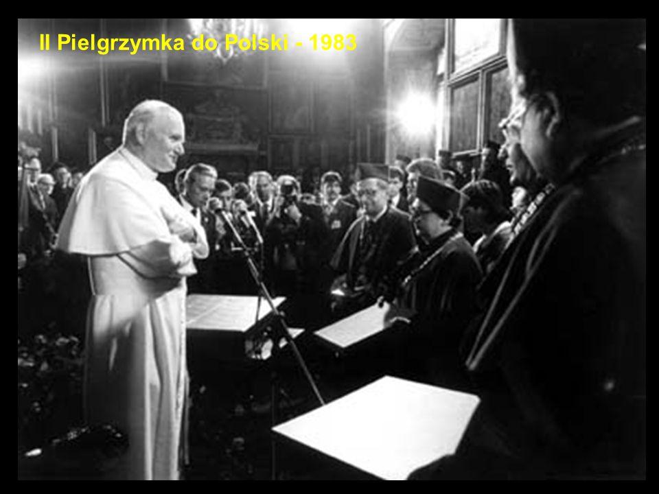 II Pielgrzymka do Polski - 1983