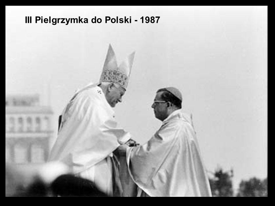 III Pielgrzymka do Polski - 1987