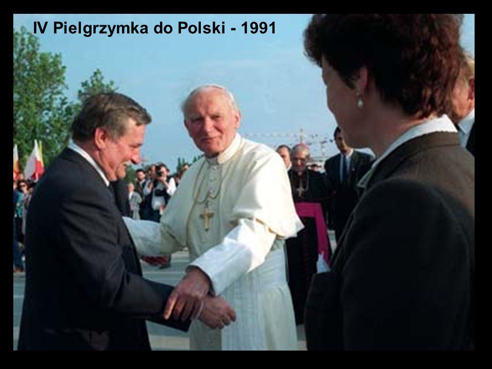 IV Pielgrzymka do Polski - 1991