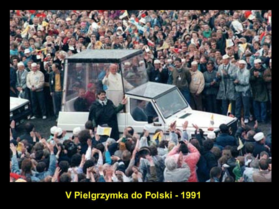 V Pielgrzymka do Polski - 1991