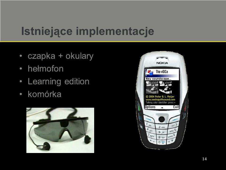 Istniejące implementacje