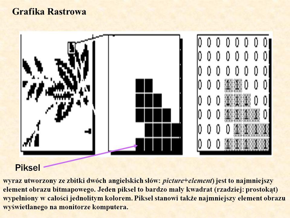 Grafika Rastrowa Piksel