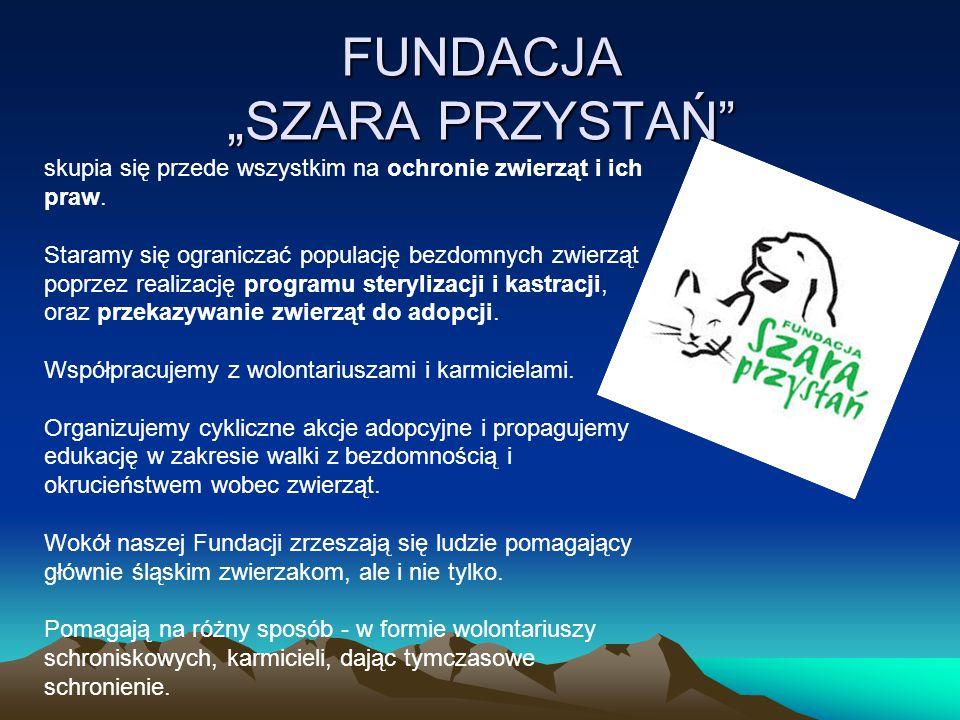 """FUNDACJA """"SZARA PRZYSTAŃ"""