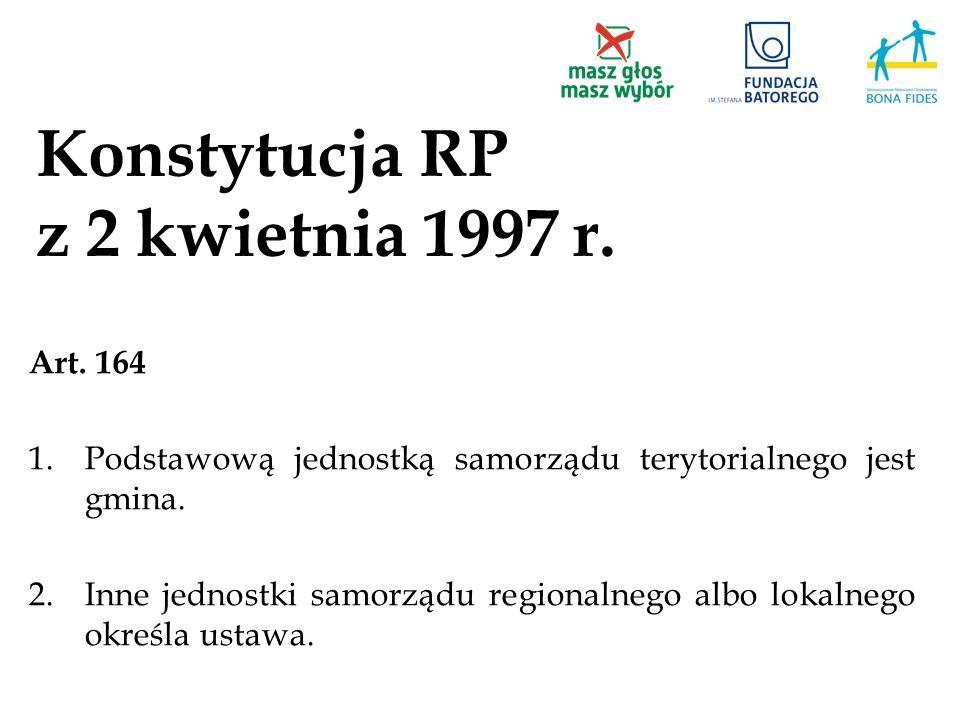 Konstytucja RP z 2 kwietnia 1997 r.