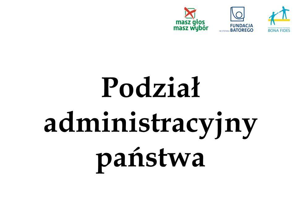 Podział administracyjny państwa