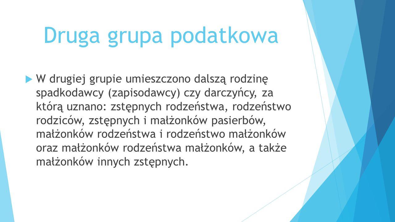 Druga grupa podatkowa