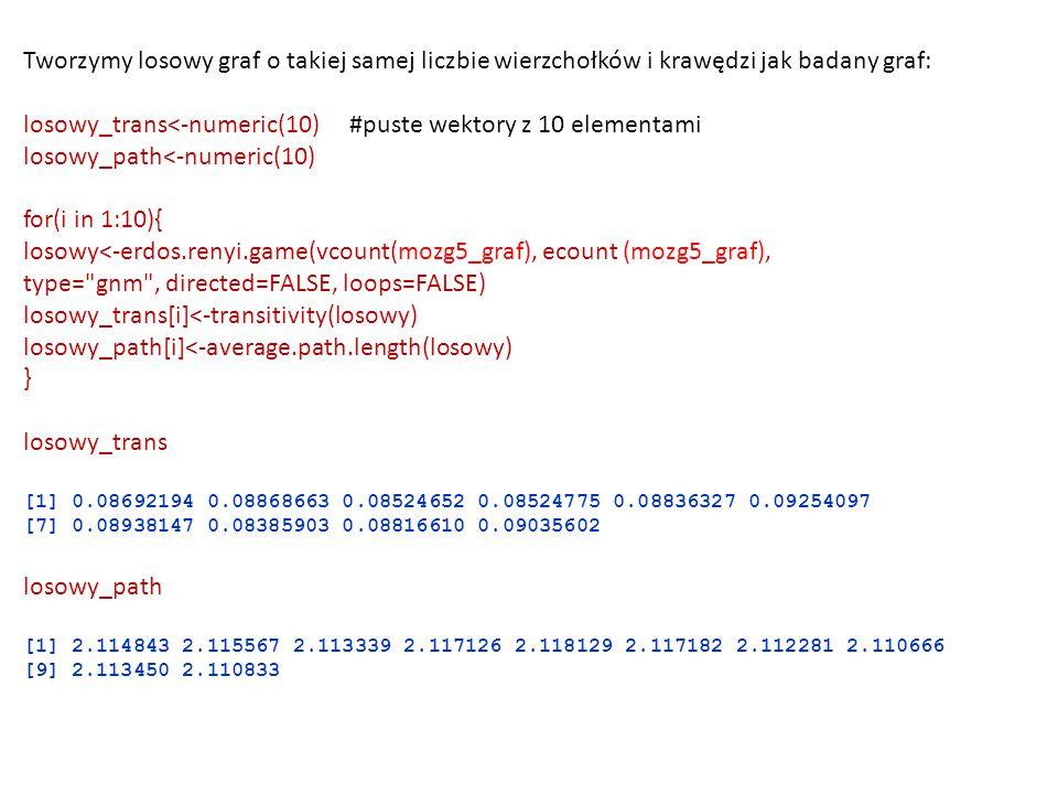 losowy_trans<-numeric(10) #puste wektory z 10 elementami