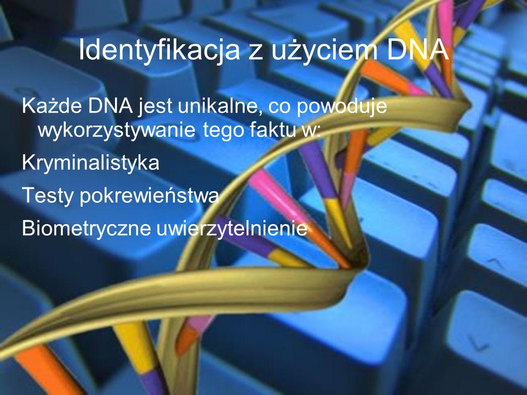 Identyfikacja z użyciem DNA