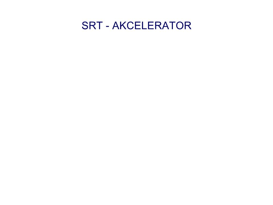 SRT - AKCELERATOR