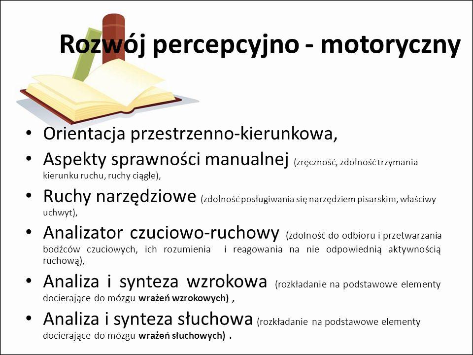 Rozwój percepcyjno - motoryczny