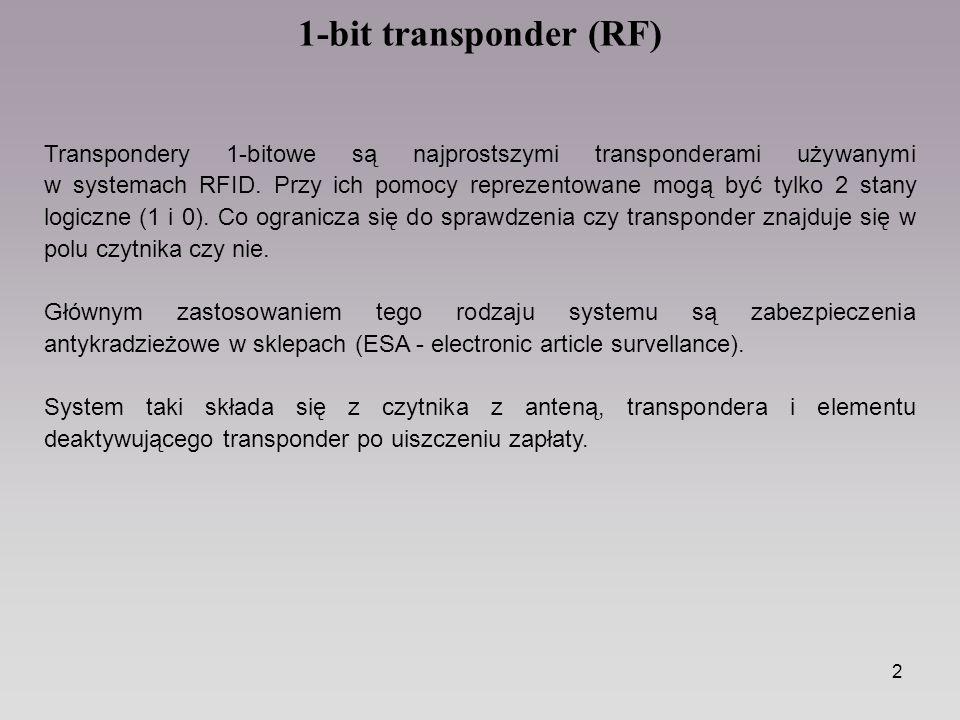 1-bit transponder (RF)