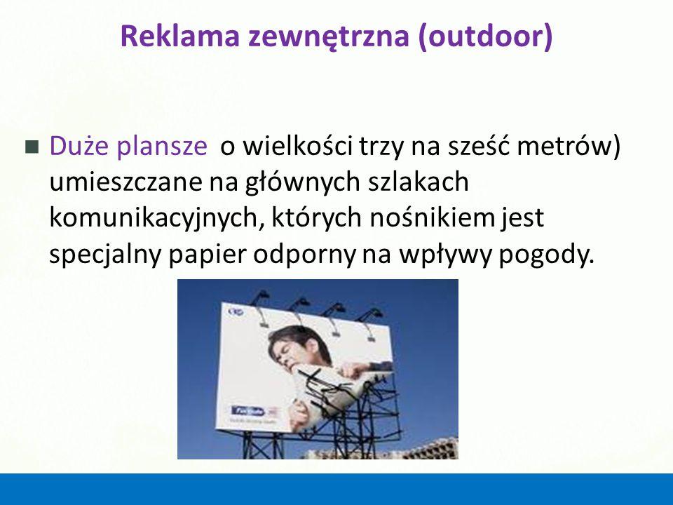 Reklama zewnętrzna (outdoor)