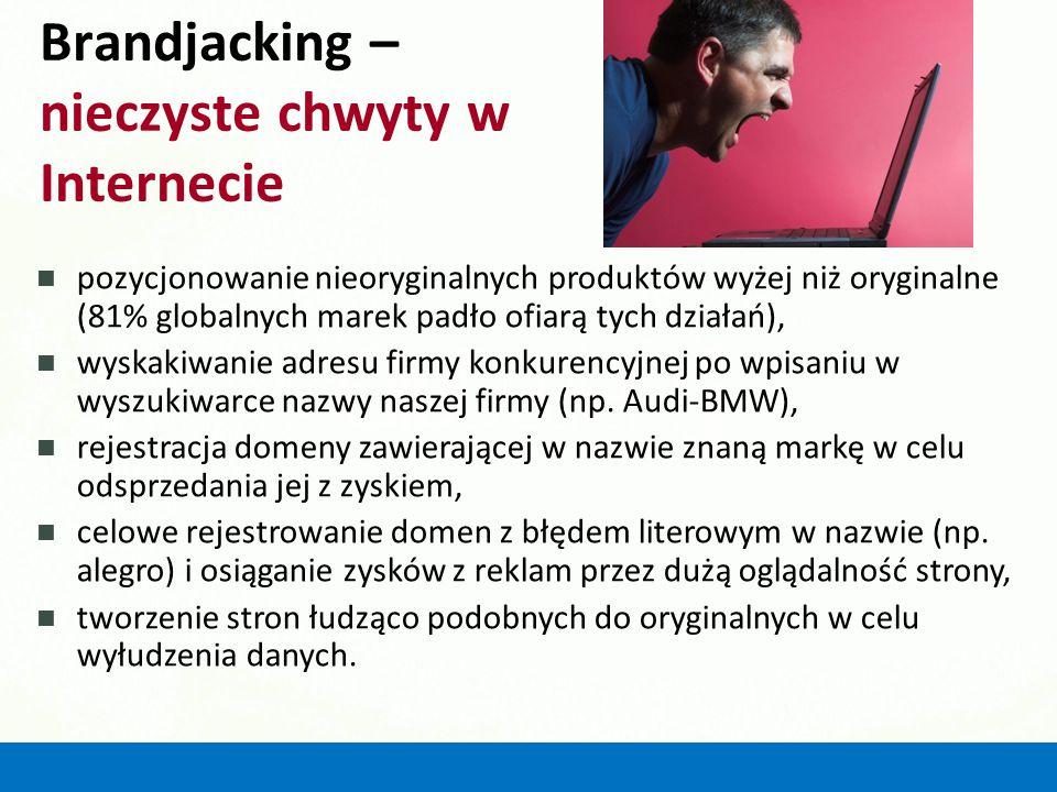 Brandjacking – nieczyste chwyty w Internecie