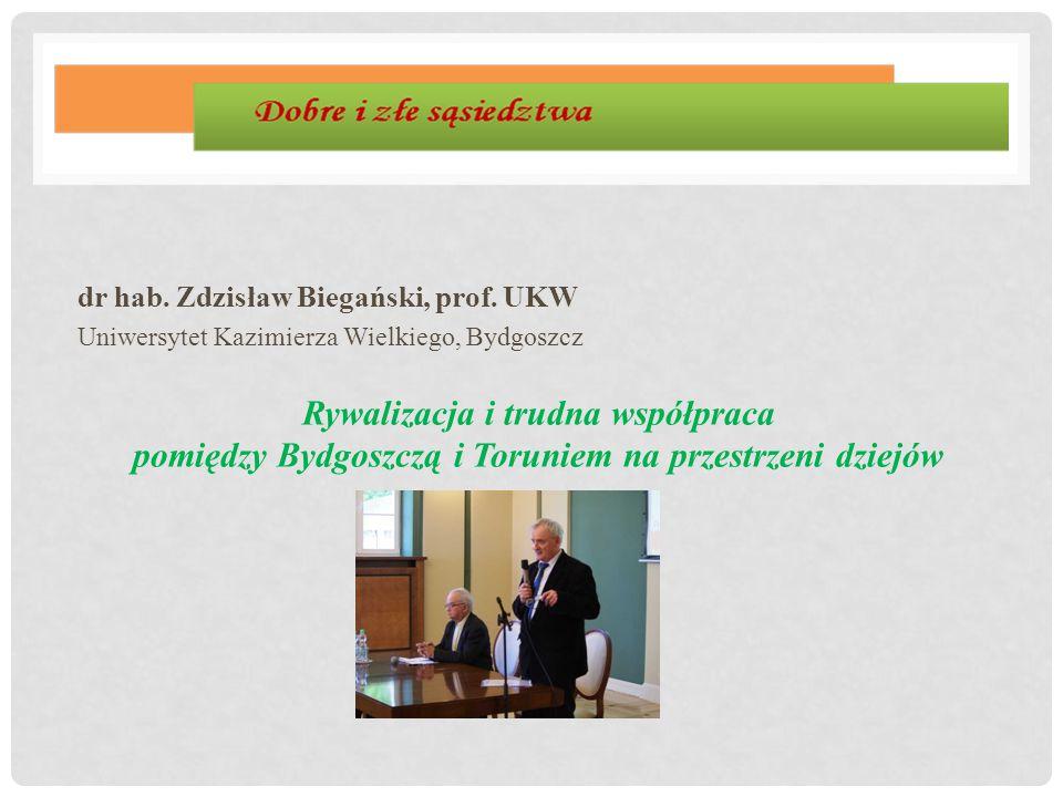 dr hab. Zdzisław Biegański, prof. UKW