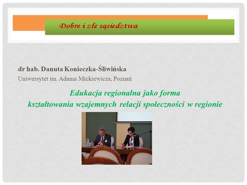 dr hab. Danuta Konieczka-Śliwińska