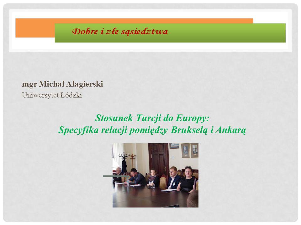 mgr Michał Alagierski Uniwersytet Łódzki.