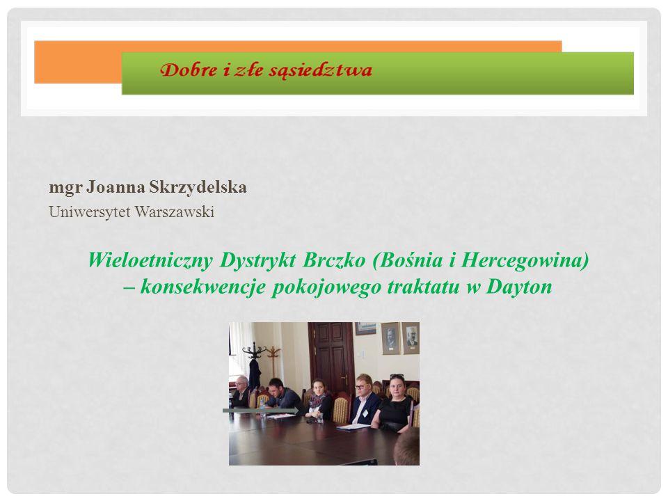 mgr Joanna Skrzydelska