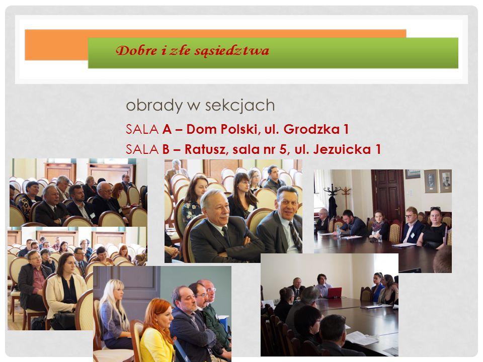 SALA A – Dom Polski, ul. Grodzka 1