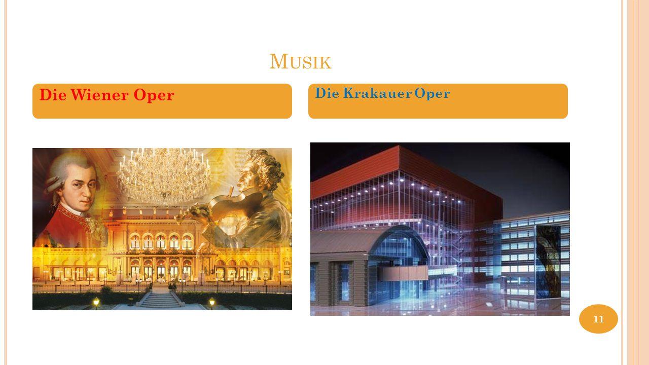 Musik Die Wiener Oper Die Krakauer Oper