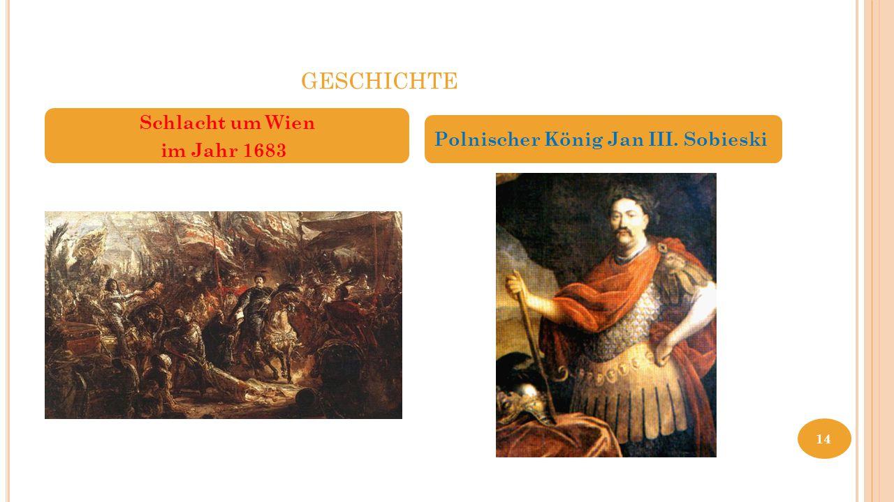 geschichte Kahlenberg Schlacht um Wien im Jahr 1683