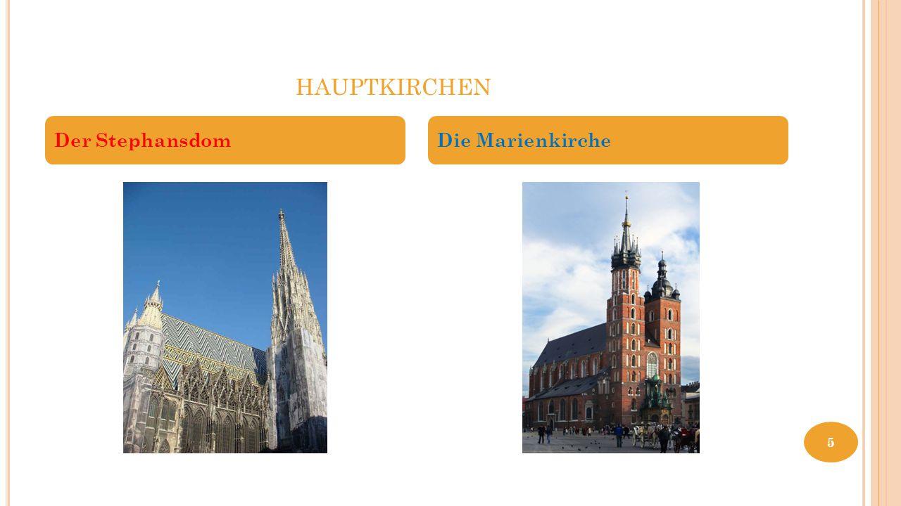 hauptkirchen Der Stephansdom Die Marienkirche