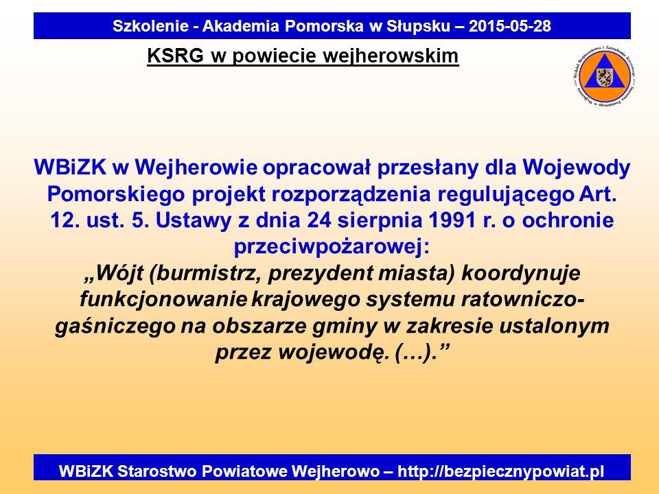 Szkolenie - Akademia Pomorska w Słupsku – 2015-05-28