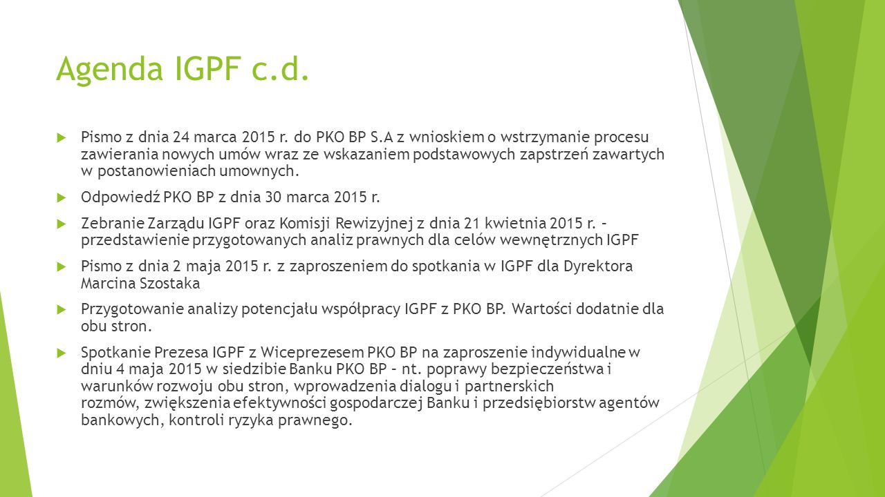 Agenda IGPF c.d.