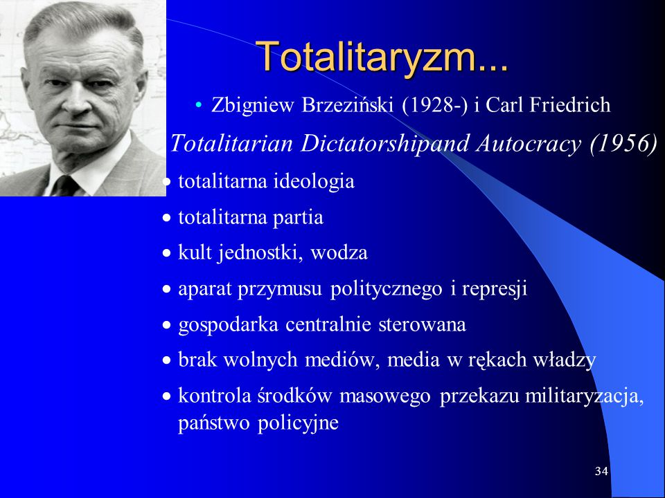 Totalitaryzm... Totalitarian Dictatorshipand Autocracy (1956)