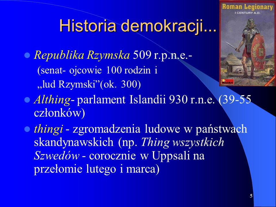 Historia demokracji... Republika Rzymska 509 r.p.n.e.-
