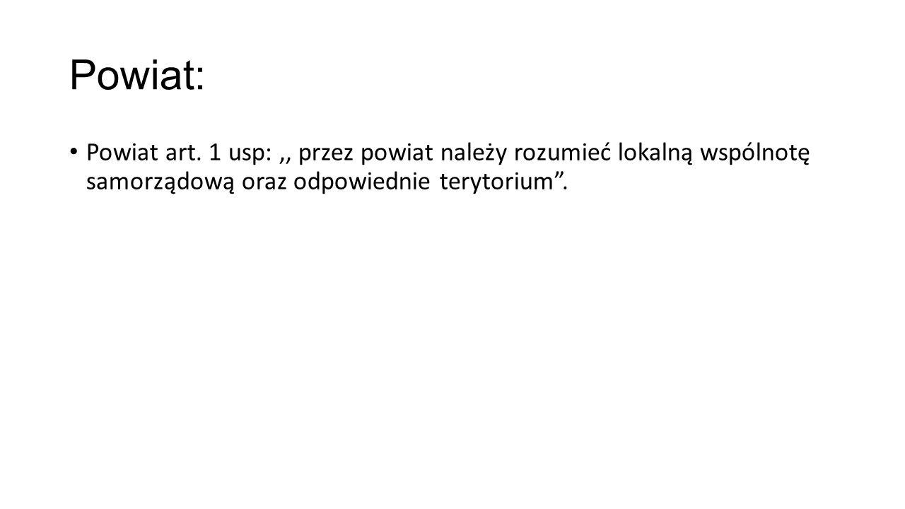 Powiat: Powiat art.