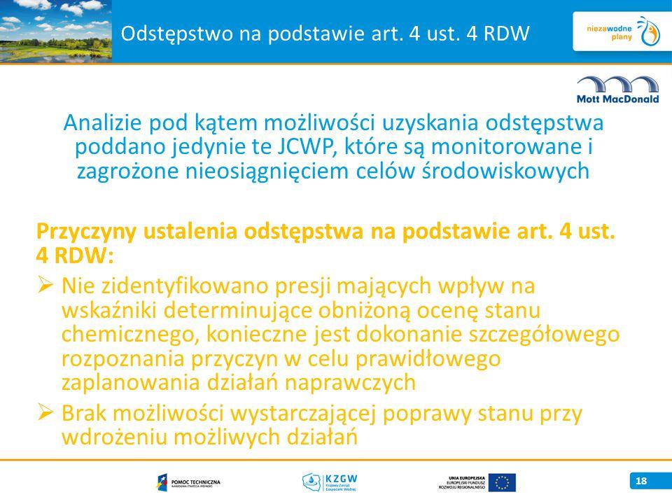 Odstępstwo na podstawie art. 4 ust. 4 RDW