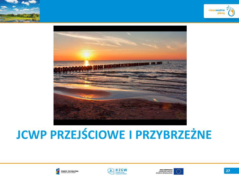 JCWP Przejściowe i przybrzeżne