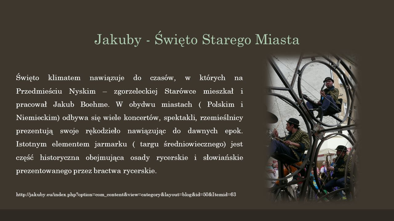 Jakuby - Święto Starego Miasta