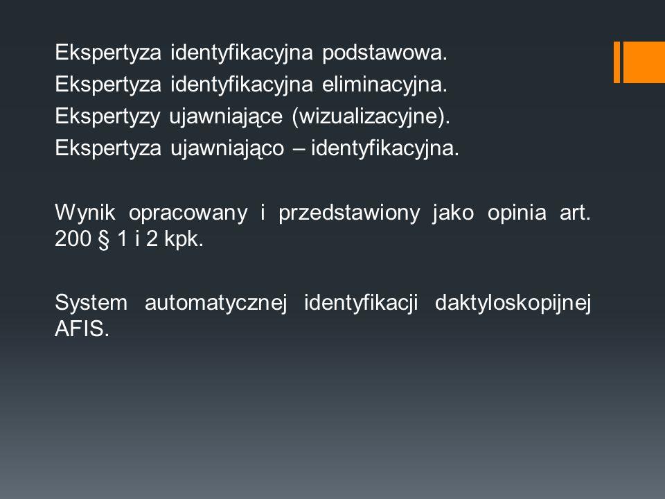 Ekspertyza identyfikacyjna podstawowa