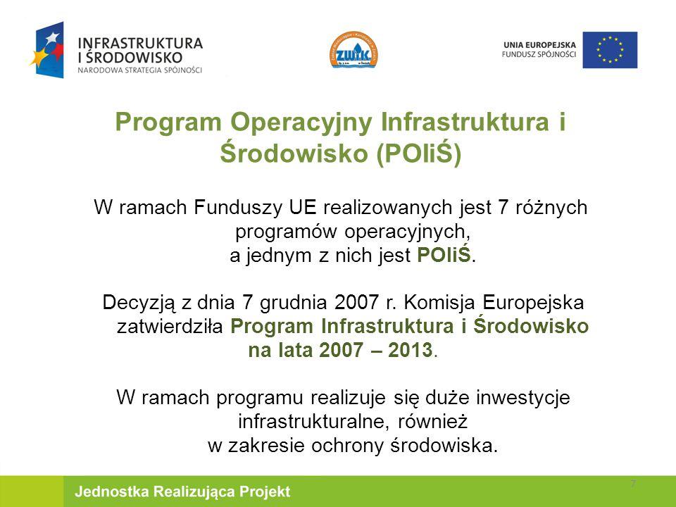 Program Operacyjny Infrastruktura i Środowisko (POIiŚ)