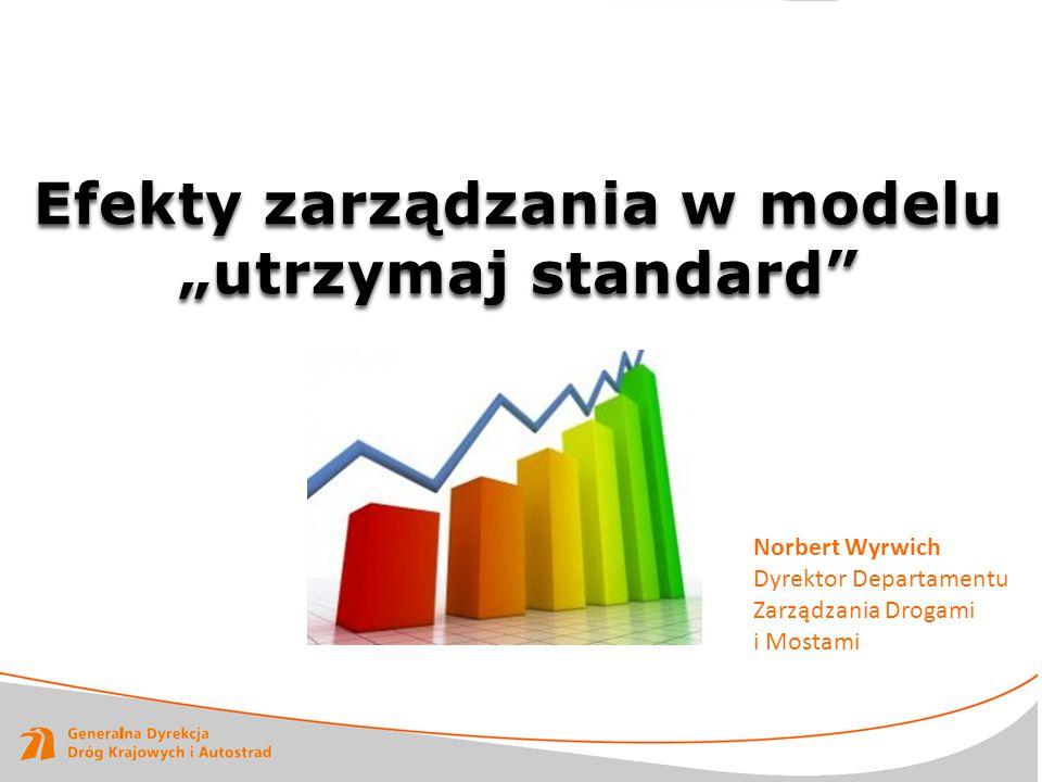 """Efekty zarządzania w modelu """"utrzymaj standard"""