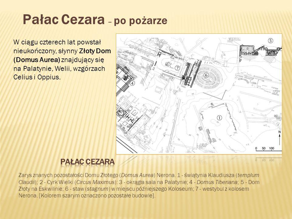 Pałac Cezara – po pożarze
