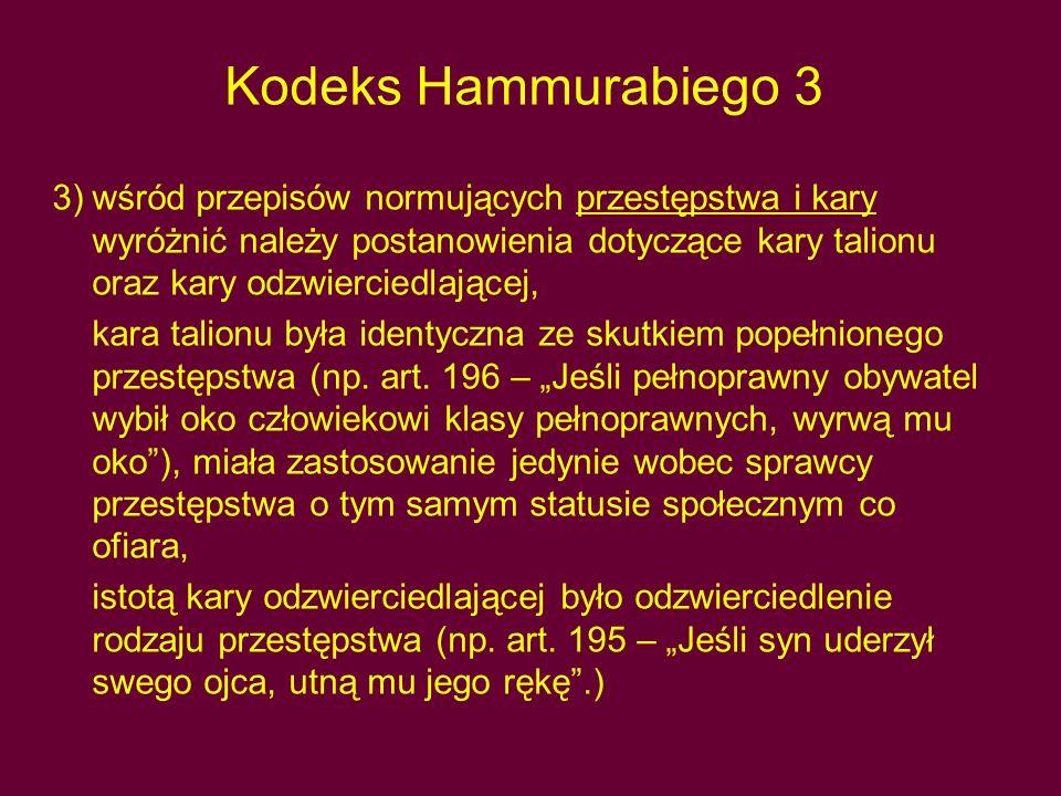 Kodeks Hammurabiego 3