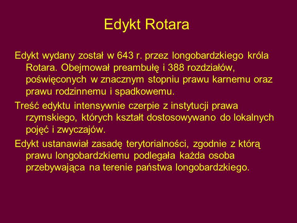 Edykt Rotara