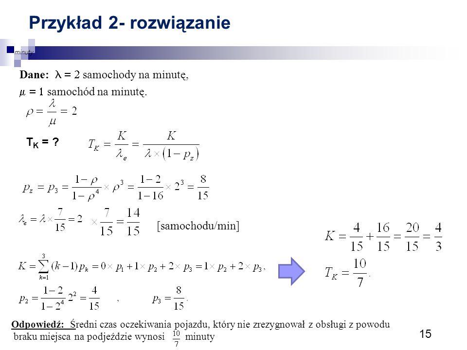 Przykład 2- rozwiązanie