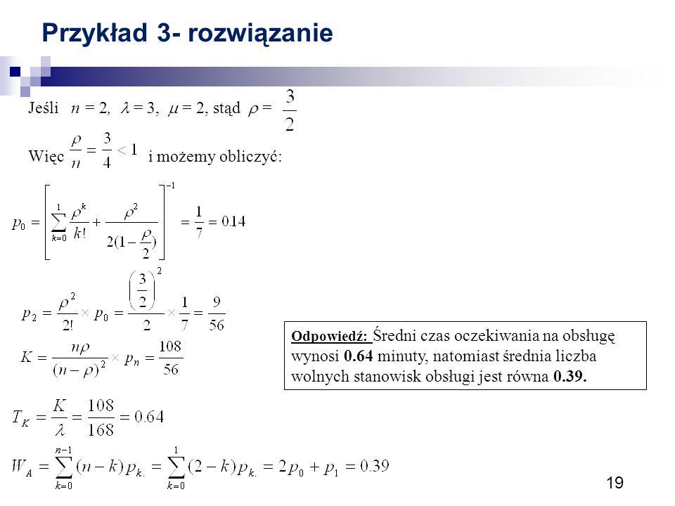 Przykład 3- rozwiązanie