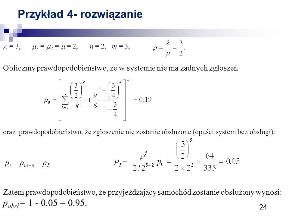 Przykład 4- rozwiązanie