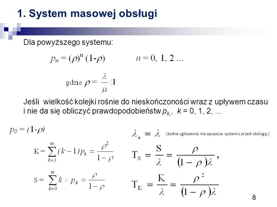 1. System masowej obsługi