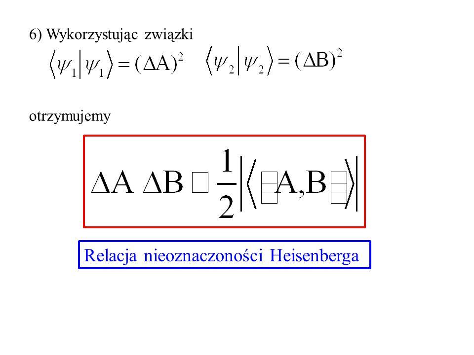 Relacja nieoznaczoności Heisenberga