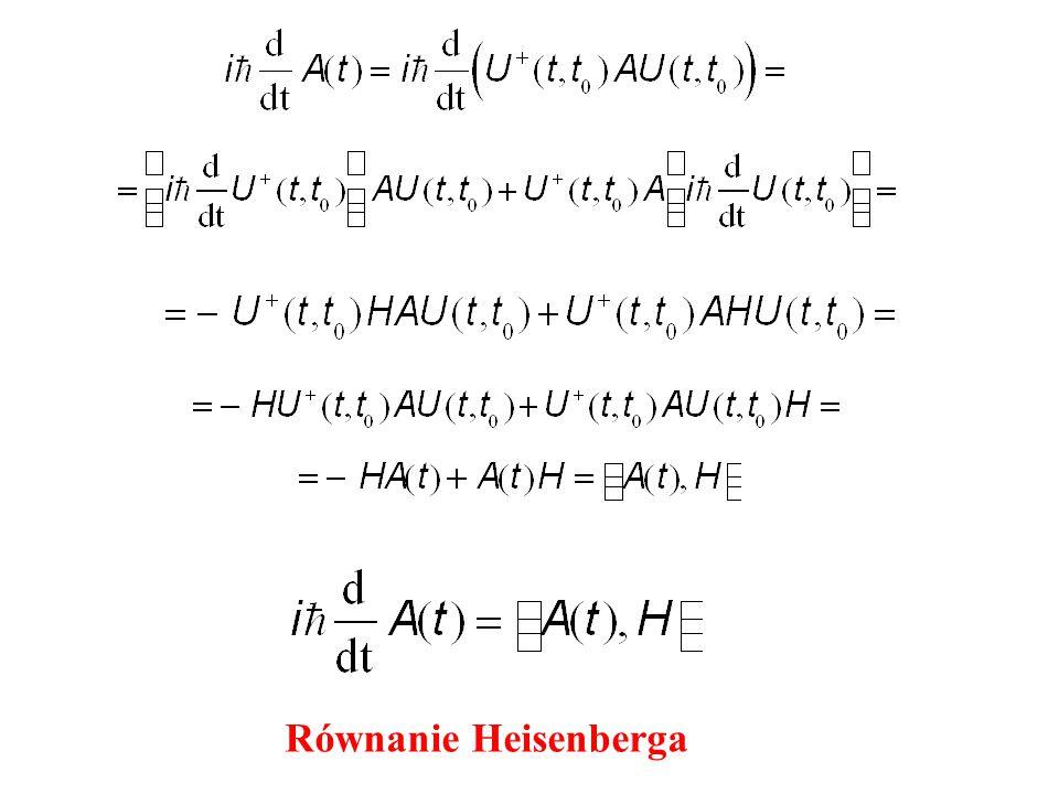 Równanie Heisenberga